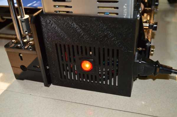 360-12 Tronxy P802 için güç kaynağı kapağı Aksesuar Tutucu