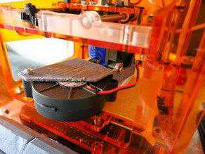 Mini üretici aka Tinyboy Aktif Soğutma Filament Fanduct