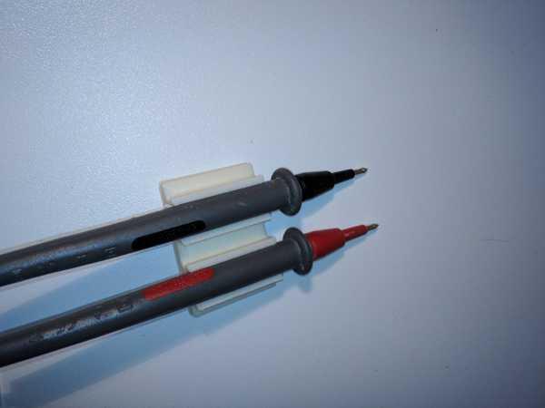 Elektrik test cihazı için klipsler  Organik Plastikten Aparat