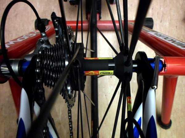 Kapalı bisiklet eğitmenleri için AC hızlı serbest bırakma kapak