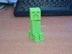 Hareketli Kafa Minecraft Creeper Dekoratif Biblo Çocuk Oyuncak