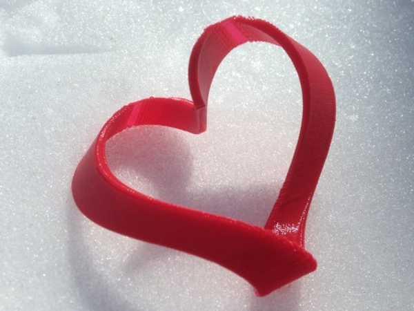 Mobius Heart Figürü Modeli Süs Eşyası Aksesuar Hediyelik