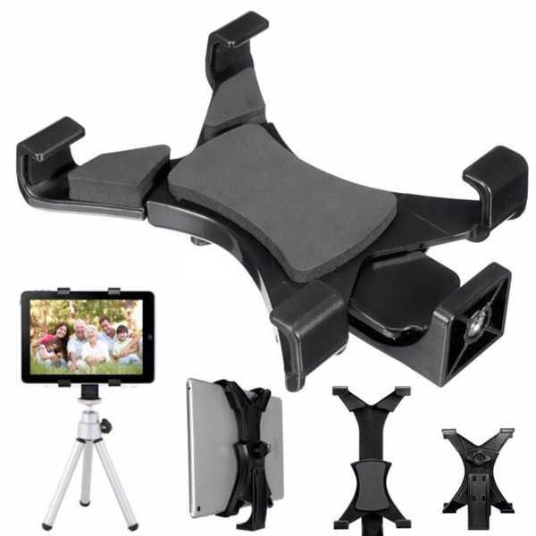 Ipad tutucu Üniversal Stand Tablet Tutucu Kıskaçlı Uzayabilen
