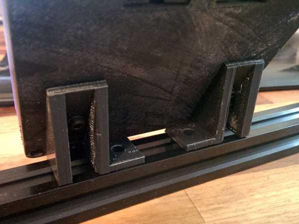 Tam Grafik Akıllı LCD Denetleyici için 20mm V Yuvası Montaj Brake