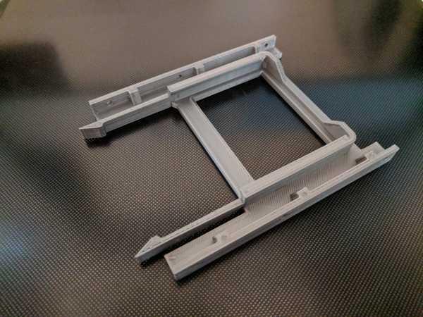2,5 SSD / HDD - 3,5 HDD montaj adaptörü - 70 mm kalınlığında