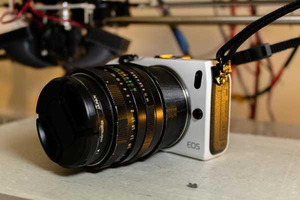 Ef-M Adaptörüne Canon Ef Plastik Aparat