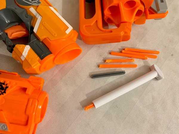 Nerf dart post twist kaldırma aracı oyuncak Aparatı Aksesuar