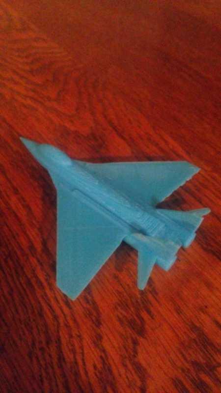 MiG-29 Uçak Modeli Figür  Dekoratif Biblo Dekor Stant