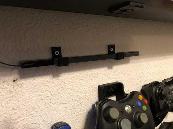 Wii U Sensör Çubuğu Duvar Montajı  Tutucu Askısı Standı Aparatı