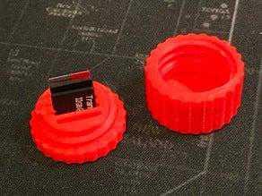 Mini Micro SD Kart Kutusu Koruyucu Kılıf Yuvarlak Kutu