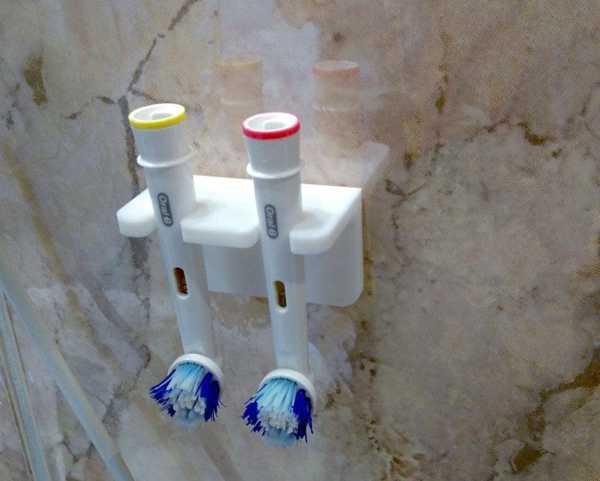 Oral B diş fırçası duvar tutucu remix  Banyo Organizeri Tutacak