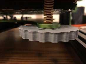 Tevo Tornado Tesviye Düğmesi  Organik Plastikten Aparat
