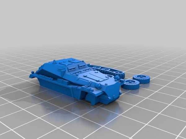 Sdkfz 252 Kolay Baskı Plastik Aparat