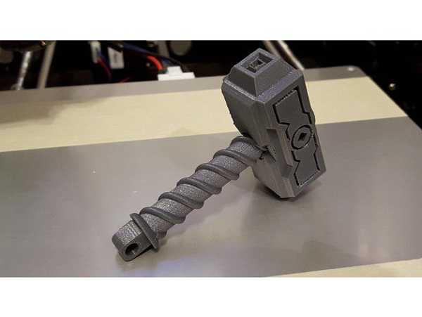 Thor Hammer Anahtarlık Ucu Dekoratif Aksesuar Süs Eşyası