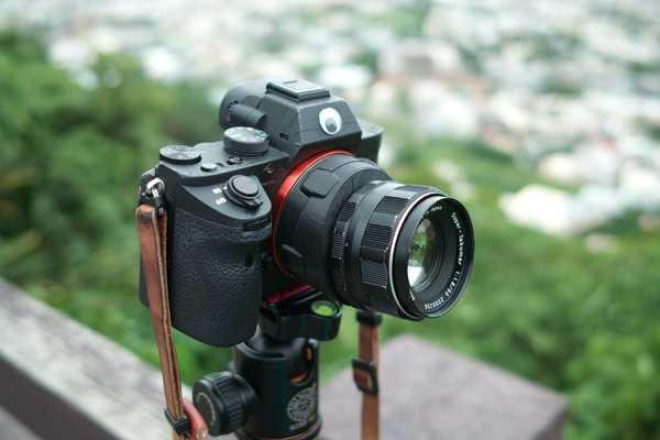 SONY FE / E gövdesi için M42 lens eğme Adaptörü  Aparat