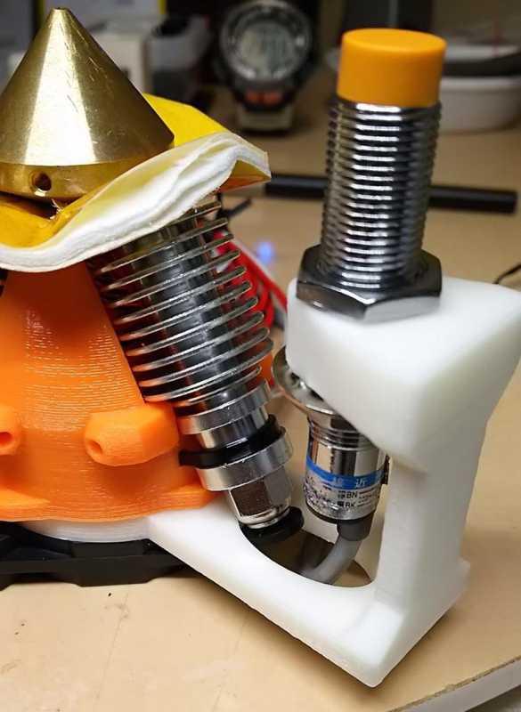 Yakınlık Sensörü Kossel Eflativ Üzerinde Kalın Elmas Hotend V2 50Mm Plastik Aparat