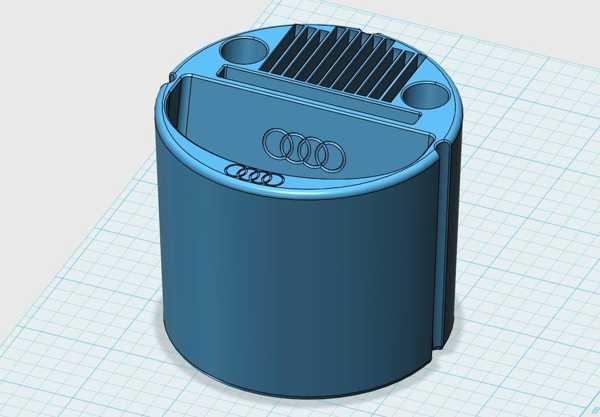(I) Telefon-Cupholder-Audi Plastik Aparat