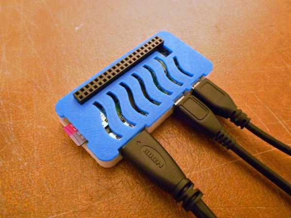 Raspberry pi 0 Koruyucu Kutu Muhafaza Plastik Hazneli Aparat