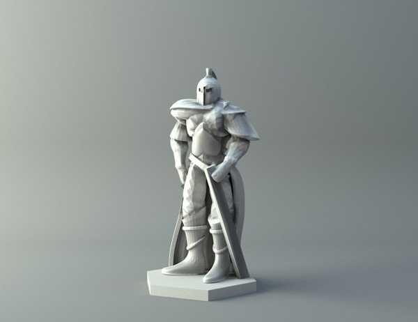İnsan savaşçı 2 - D&D minyatür Dekoratif Hediyelik Süs Eşyası