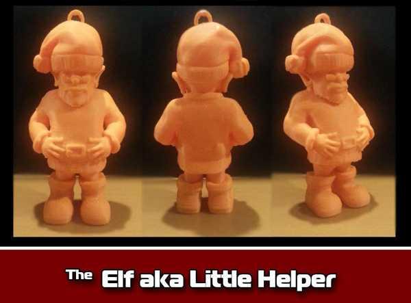 Elf Aka Küçük Yardımcı Süsleme Plastik Aparat
