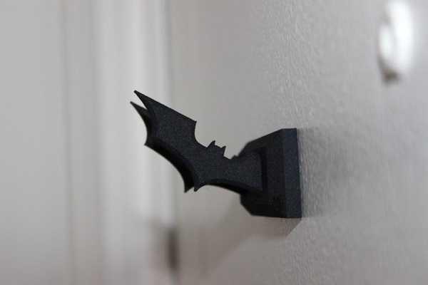 Batman Batarang Anahtar Askısı Tutucu Dekoratif