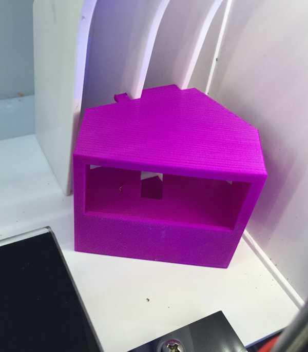 Robo3D R1 için Sıcaklık Montajı  Organik Plastikten Aparat