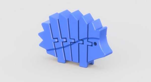 Esnek Kirpi Oyuncak Biblo Dekoratif Hediyelik Süs Eşyası Maket