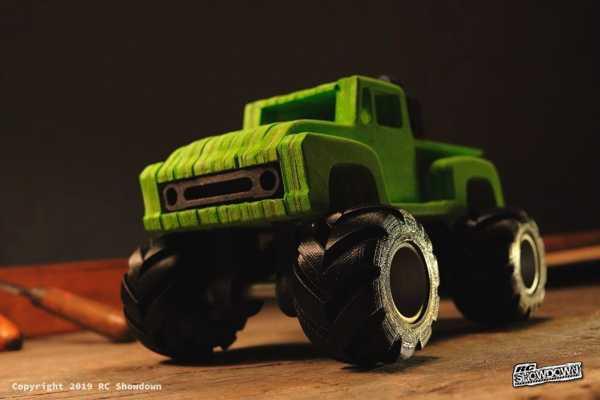 Toptan  Ford F100 Monstertruck Basitleştirilmiş Cnc Model Tamiya Midnight Balkabağı Plastik Aparat