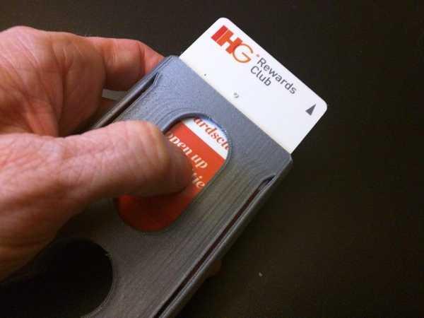 Recon Lite Hardcase Cüzdan Kartlık Kartvizitlik Organik Plastik
