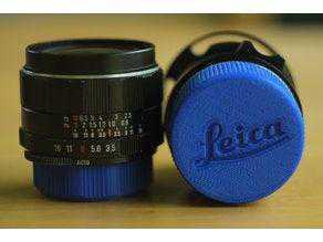 Logolu Leica M lens arka kapağı lens koruyucu Dekoratif Aparat