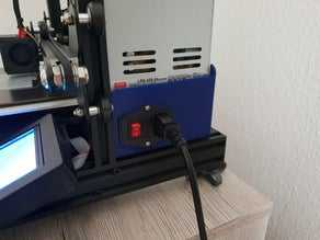 Slim Meanwell LRS-350 PSU Kapağı  Organik Plastikten Aparat