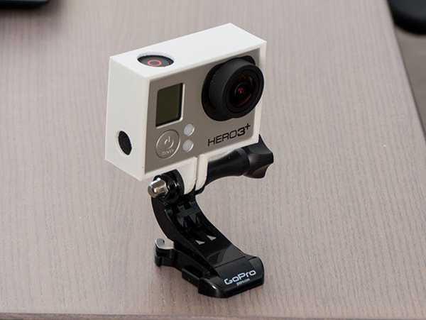 GoPro 3 Frame  Organik Plastikten Dekoratif Aksesuar