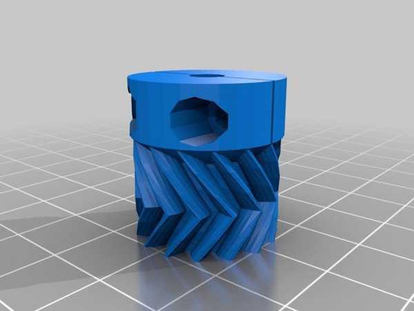 Toptan  Wade Ekstruder İçin Parametrik Kelepçe Küçük Dişli Plastik Aparat
