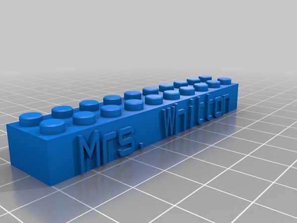 Benim Özel Lego Blok Kolye / Anahtarlık Plastik Aparat