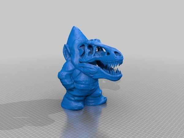 Gnome-Rex Plastik Aparat