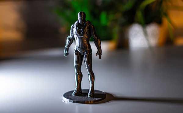 Toptan Demir Adam Iron Man Ironman Heykeli Dekoratif Hediyelik