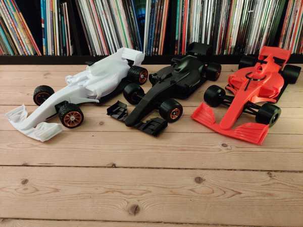 OpenRC F1 2018 Güncellemeleri  Organik Plastikten Aparat