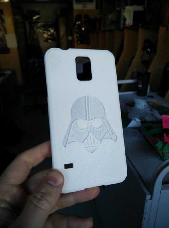 Samsung Galaxy S5 Vader Case Plastik Aparat