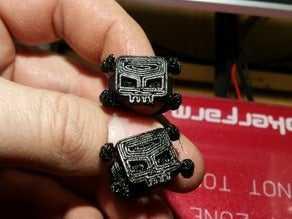 Skull Ring  Biblo Dekoratif Hediyelik Süs Eşyası Maket