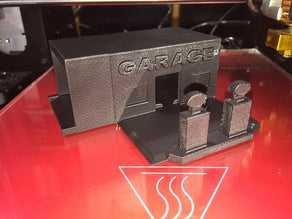 Garage Versiyon 1 Minyatür Araç Garajı Oyuncak Dekoratif