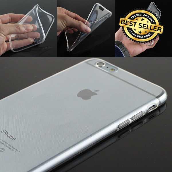 iPhone 5 5S SE 6 6S 7 7 PLUS ŞEFFAF SİLİKON KILIF KORUMA KAP