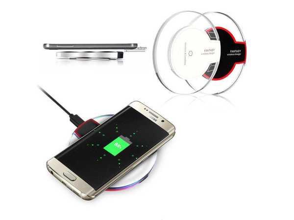 iPhone Samsung Uyumlu Qi Kablosuz Temassız Şarj Cihazı Aleti