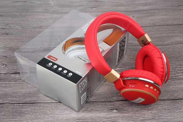 Kablosuz Bluetooth Kulaklık Wireless 560 bt Süngerli Rahat Kullan