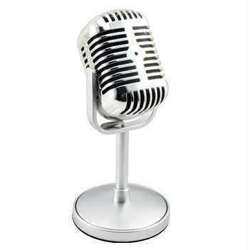 Karaoke Mikrofon Nostaljik Pc Mikrofon Ev Parti Eğlence