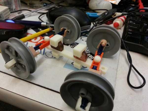 Knex Coaster Car Plastik Aparat