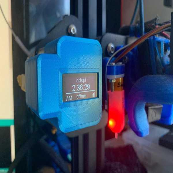 Ender 3 X-Gantry Octoprint Monitor Plastik Aparat