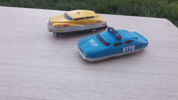 Polis Arabası Uçan Beşinci Eleman Plastik Aparat