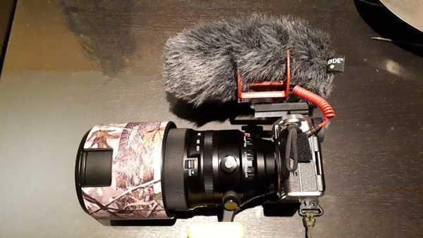 Rode Videomic Go İçin Kamera Adaptörü Plastik Aparat