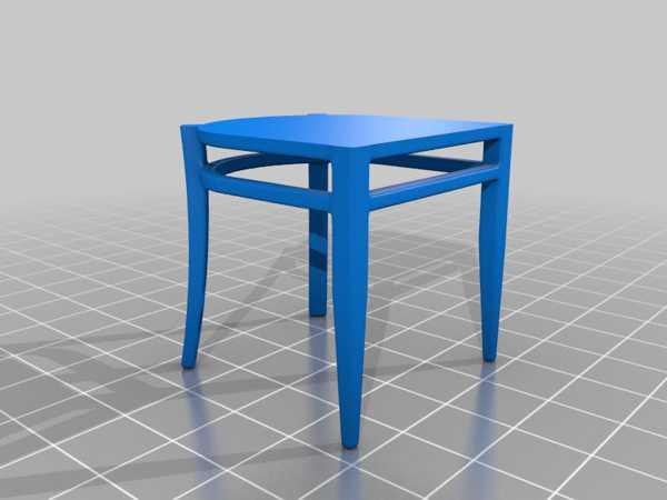 Sandalye Minyatür Seti Plastik Aparat