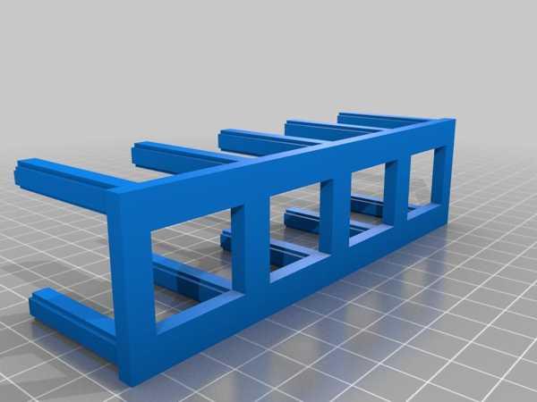 (3D Slash) Nähgarnhalter Plastik Aparat